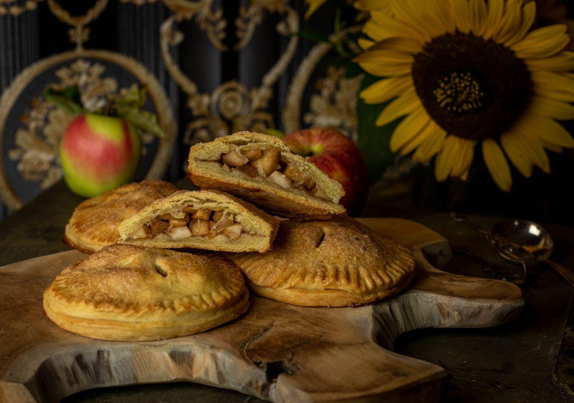 Apfeltaschen - Hand Pies mit veganem Mürbeteig