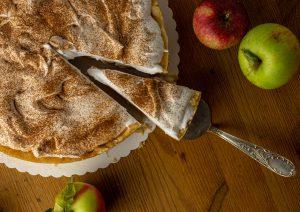 Herbstlich saisonaler Kuchen