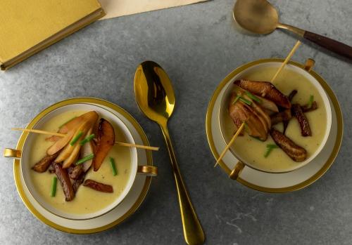 Eine leckere Vorsuppe oder kleine Mahlzeit