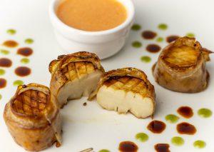 Zartes Muschelfleisch aus Kräuterseitlingen