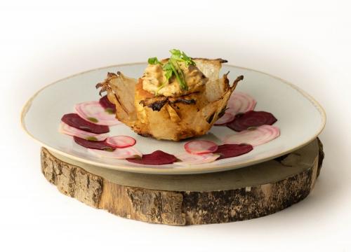 Köstliche, vegane Küche