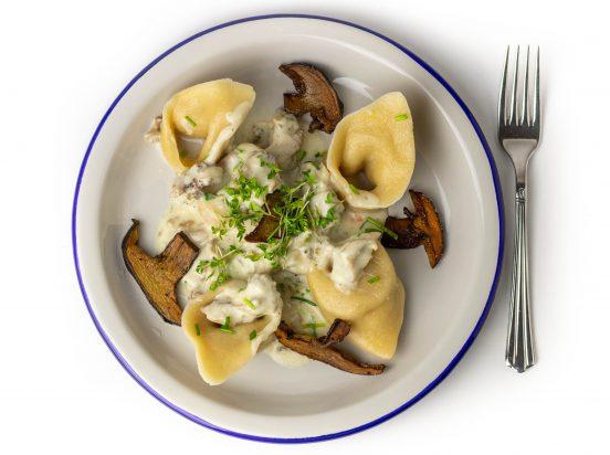 Pasta à la Krause Glucke - Krause Glucke in Sahnesauce mit Pasta