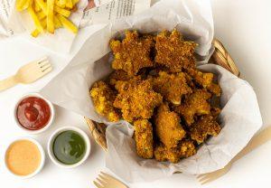Leckeres, veganes Fast Food aus Pilzen