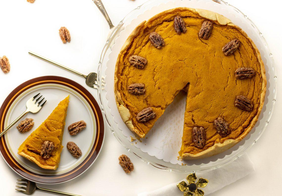 Pumpkin Pie, amerikanischer Kürbiskuchen