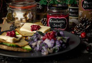 Cranberrysenf - weihnachtlich lecker, auch als Geschenk