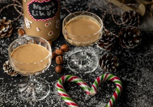 Nougatlikör – für winterliche Likörchenabende