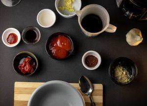 Zutaten für die BBQ Sauce