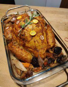 Frisch aus dem Ofen: vegane Weihnachtsgans