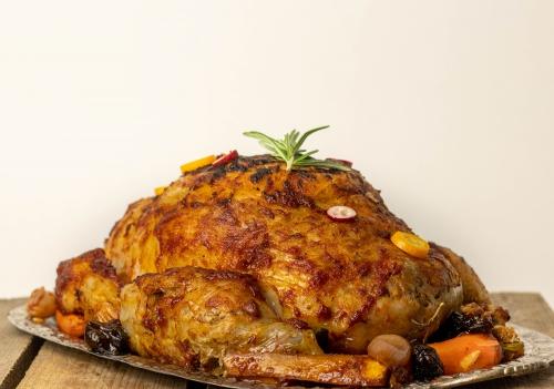 Mit saftigem Fleisch und einer knusprigen, fetten Haut