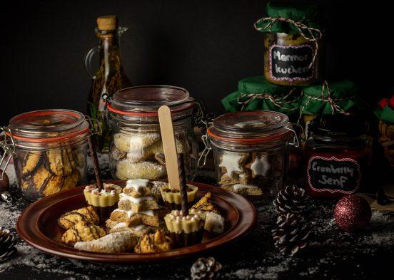 Kleine, selbstgemachte, vegane Weihnachtsgeschenke