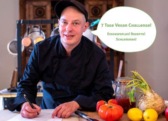 Sean Moxies 7 Tage Vegan Challenge