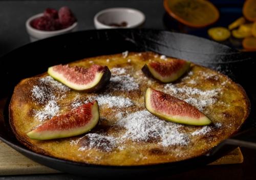 Pfannkuchen, einfach im Ofen gebacken
