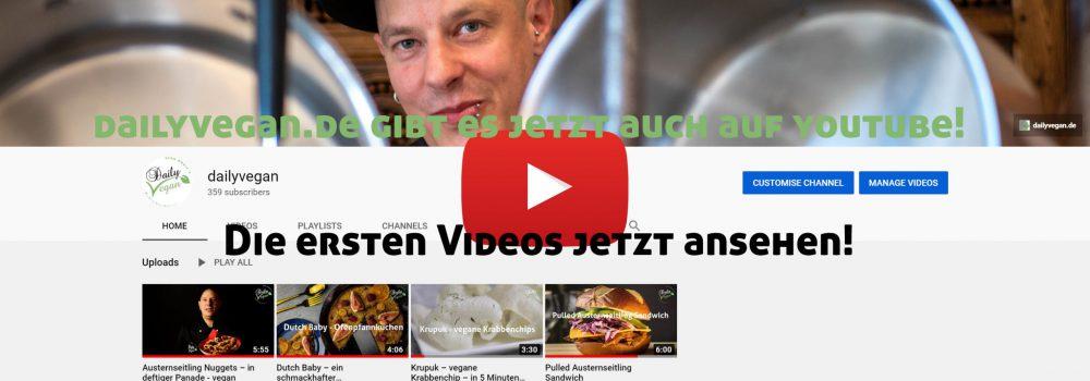 dailyvegan.de auf youtube