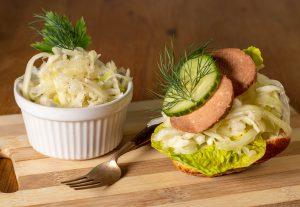 Krautsalat - auch lecker auf veganem Wurstbrot