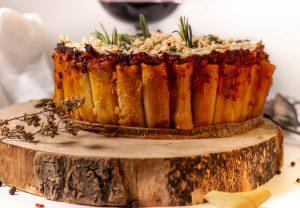 Rigatoni Torte - Pastakuchen aus dem Ofen