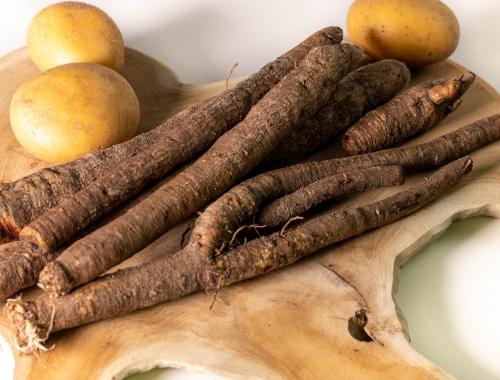 Schwarzwurzeln und Kartoffeln