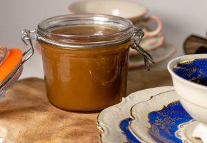 Sämige Karamellcreme mit leichter Vanillenote
