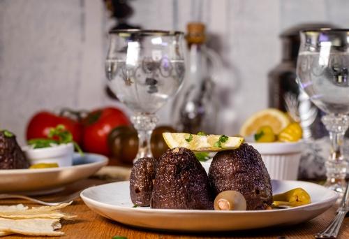 Köstliche mediterrane Küche