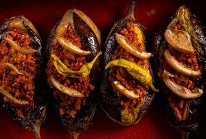 Karniyarik - heiß und frisch aus dem Ofen