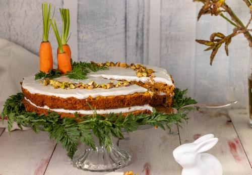 Karottenkuchen sind überall beliebt