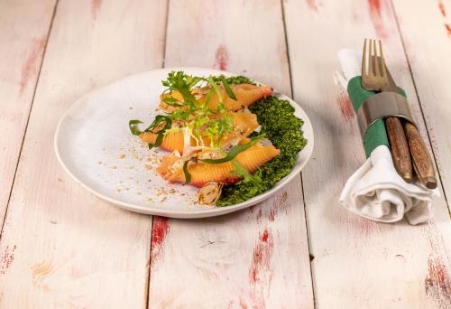 Vegane gehobene Küche