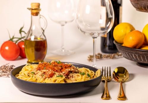 Spaghetti Bolognese – rein pflanzlich