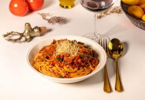 Spaghetti Bolognese – plantbased