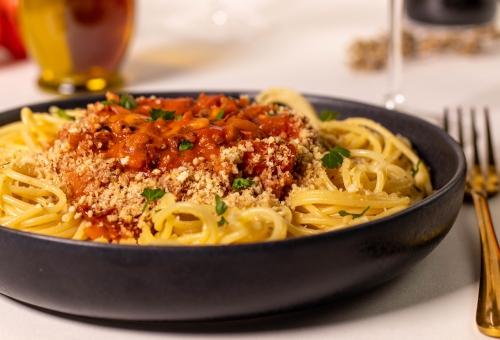 Spaghetti Bolognese – beliebt bei groß und klein.