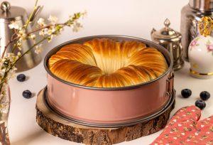 Süßes Wollknäuelbrot: goldbraun gebacken