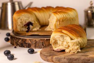 Wool Roll Bread, frisch aus dem Ofen