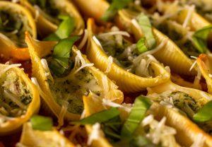 Köstliche italienische Pasta