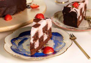 Ein Traum aus Erdbeer und Schokolade!