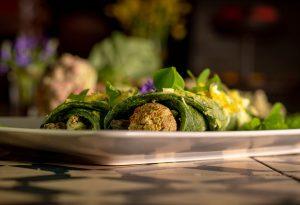Wusstet Ihr, dass man von Rhabarber auch die Knospen und Blüten essen kann?