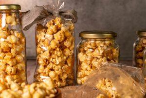 Man kann Glück nicht kaufen, aber man kann Karamell Popcorn machen