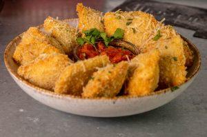 Toasted Ravioli – Frittierte Ravioli - gebackene Ravioli