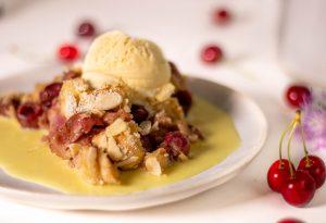 Lecker als Dessert oder als süße, warme Hauptspeise: Kirschenmichel