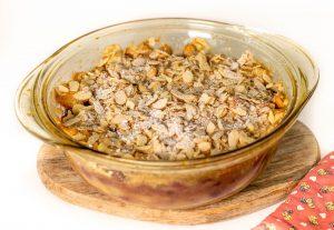 Kirschenmichel frisch aus dem Ofen - Plant based