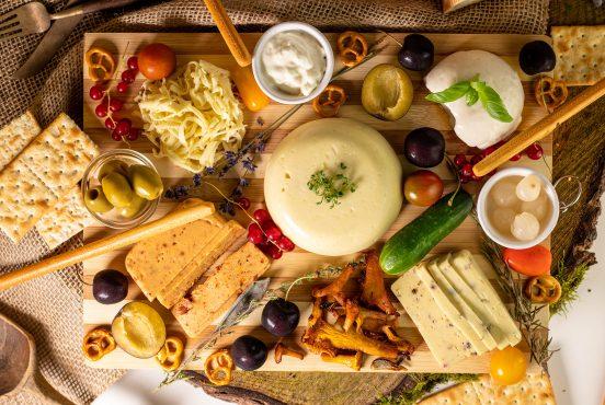 Kartoffelkäse – veganer Käse ohne Nüsse