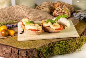Veganer Mozzarella – pflanzlicher Käse – authentisch und schmilzt