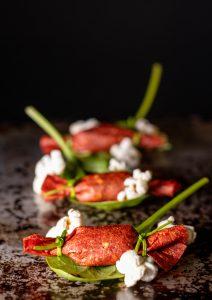 Ein perfektes Amuse Gueule für die gehobene vegane Küche
