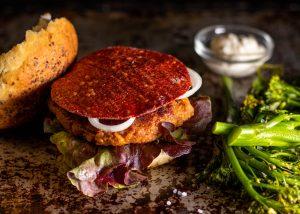 Eine überraschende Schicht auf Hamburgern