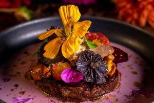 Das Centre Piece auf den Tellern: Herbstliche Seitan Steaks