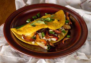 Das glutenfreie Rezept schmeckt auch mit anderen Wildpilzen