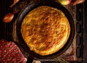 Frisch aus dem Ofen, mit luftigem Blätterteig