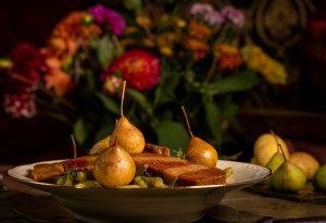 Birnen, Bohnen und Speck – ein Muss in der hiesigen Herbstküche